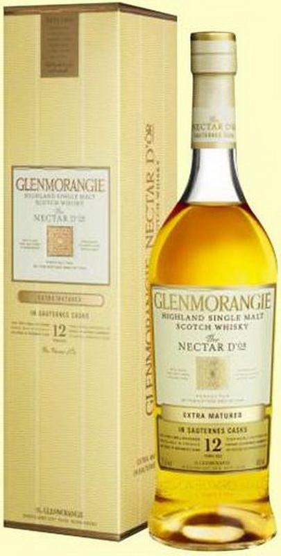 виски Гленморанджи Нектар Дор 12 лет Шотландский виски Glenmorangie Nectar Dor 12 years