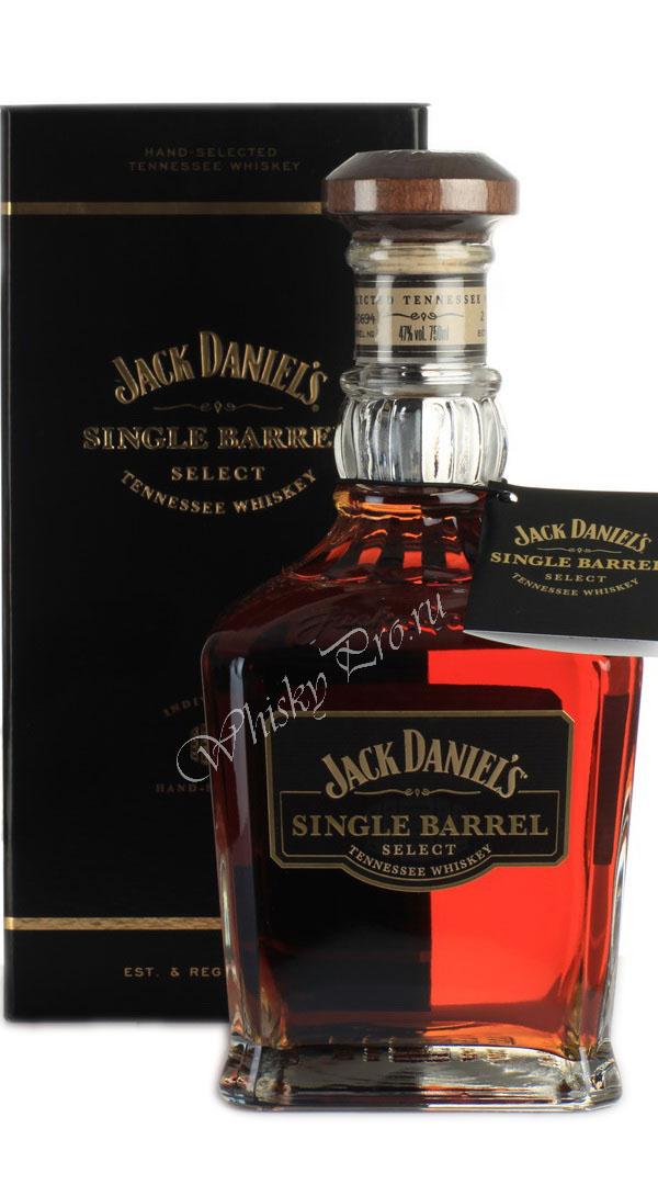 Американский виски Джек Дэниэлс Сингл Баррель виски Jack Daniels Single Barrel
