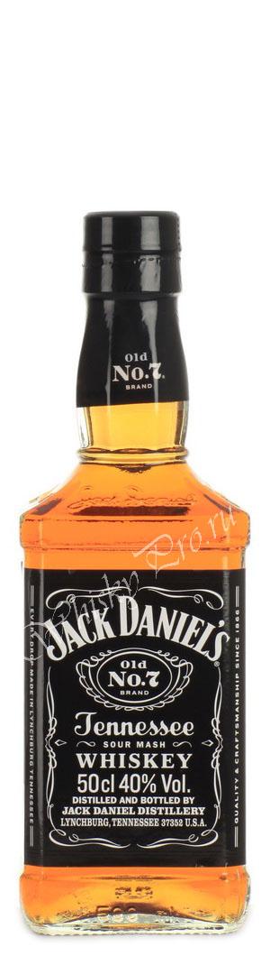 Американский виски Джек Дэниэлс 0.5 литров виски Jack Daniels 0.5 L
