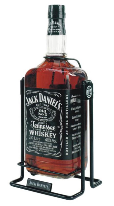 Whisky Jack Daniels 3L, купить виски Джек Дэниэлс 3 литра