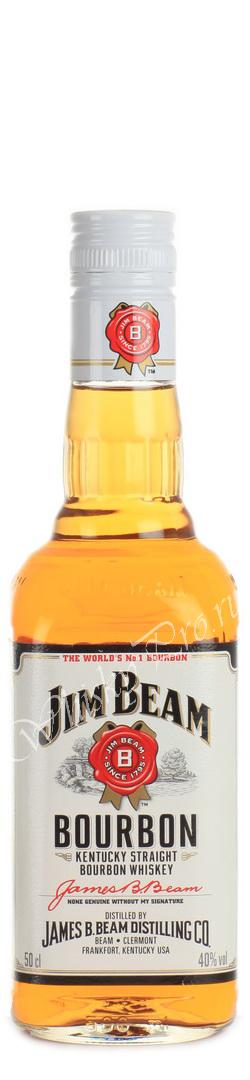 Whisky Jim Beam Bourbon 0.5L, купить виски Джим Бим 0.5 литров