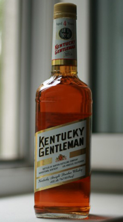 Американский виски Кентукки Джентльмен 4 года виски Kentucky Gentleman 4 years