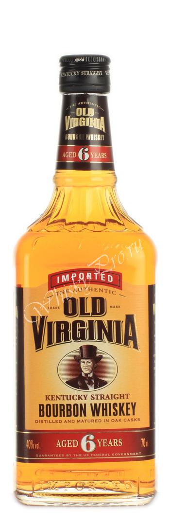 Whisky Old Virginia Bourbon 6 years, купить виски Олд Вирджиния 6 лет