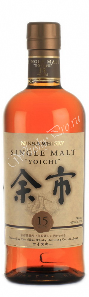 Виски Японский виски Никка 15 лет Японский виски Nikka Whisky 15 years