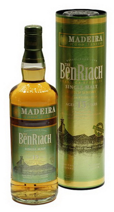 Виски виски Мадера Бенриах 10 лет шотландский виски Madeira Benriach 10 years