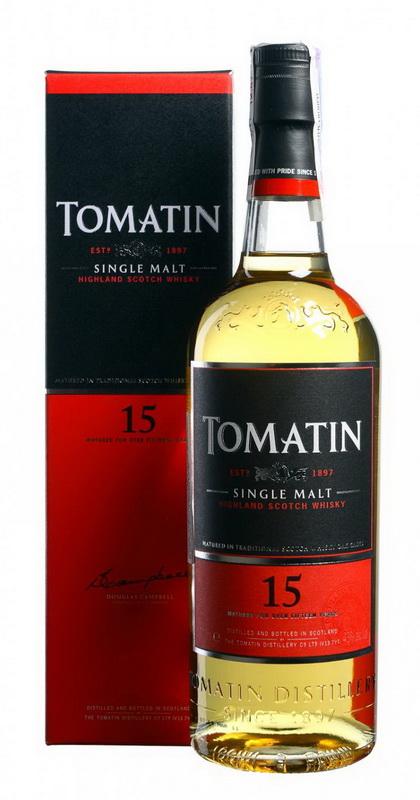 Шотландский Виски Томатин 15 лет виски Tomatin 15 years