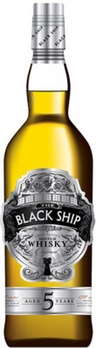 Виски Блэк Шип 5 лет Шотландский виски Black Ship 5 years