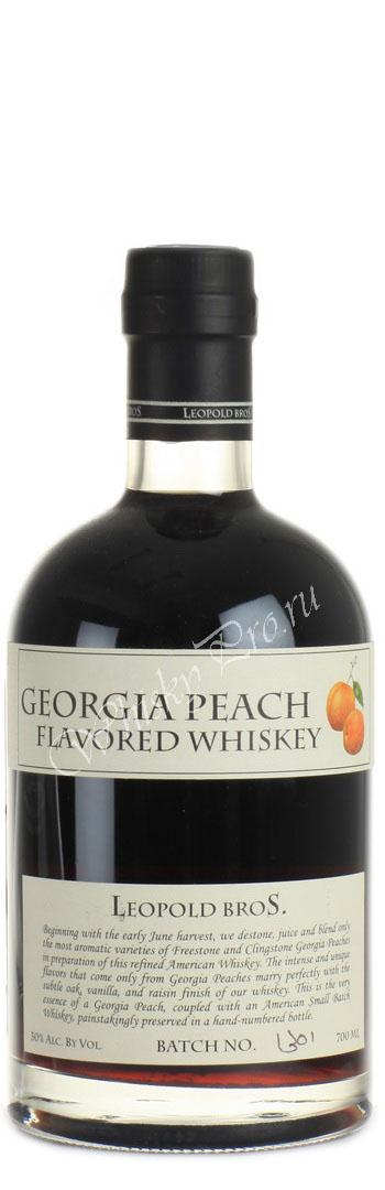 Виски Лополд Брос Пеач Американский виски бурбон Leopold Bros Peach