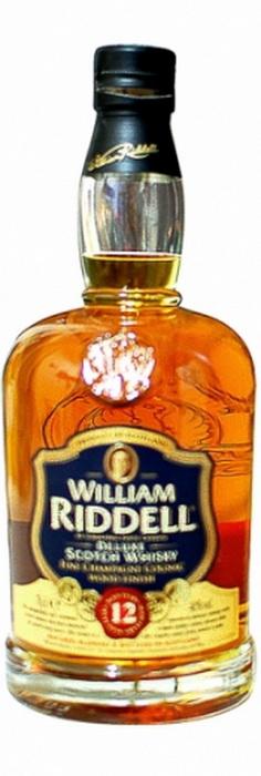 Виски Уильям Ридделл 12 лет Шотландский виски William Riddell 12