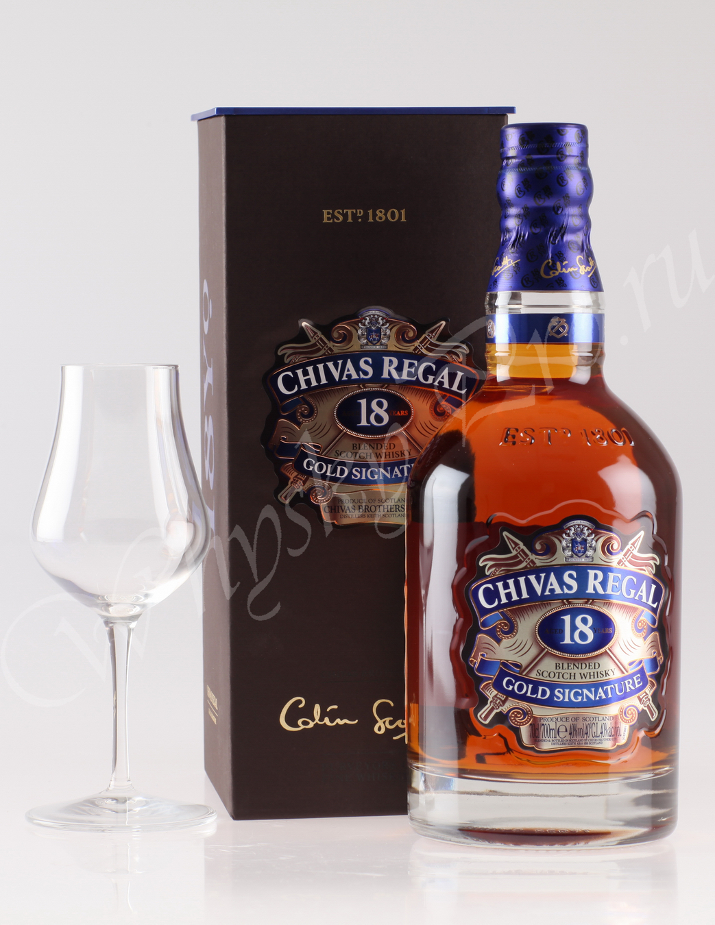 Виски Чивас Ригал 18 лет Шотландский виски Chivas Regal 18 years