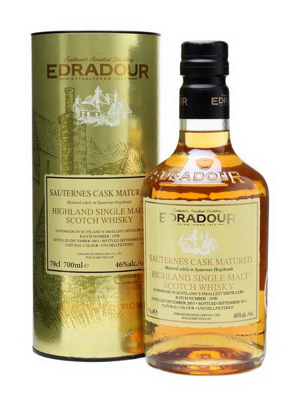 Виски Эдрадур 2003 года Шотландский виски Edradour 2003