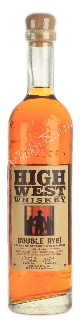 Виски Хай Вест Американский виски бурбон High West