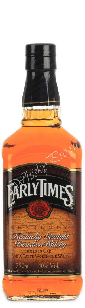 Виски Эрли Таймс Виски Early Times
