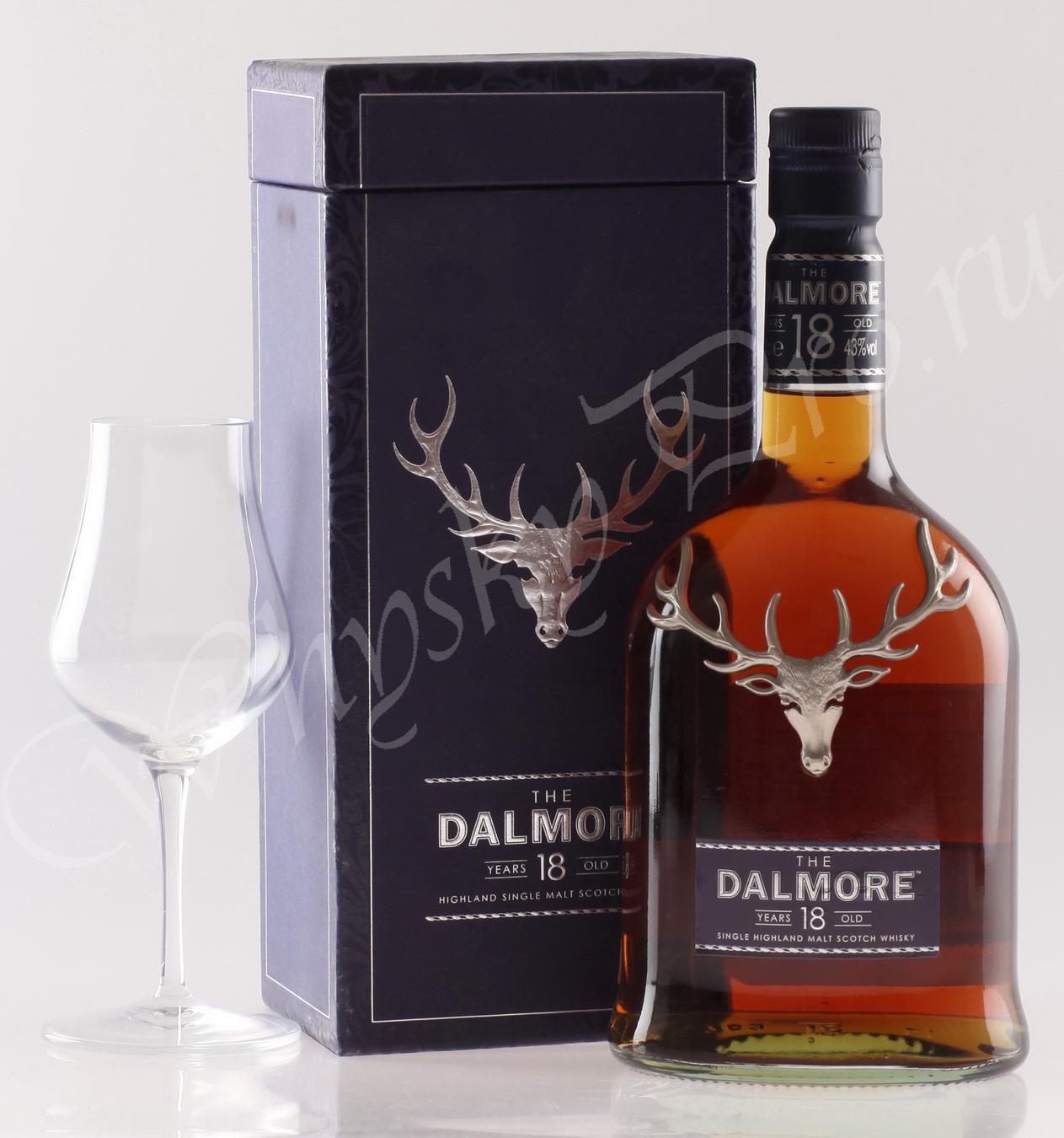 виски Далмор 18 лет Шотландский виски Dalmore 18 years