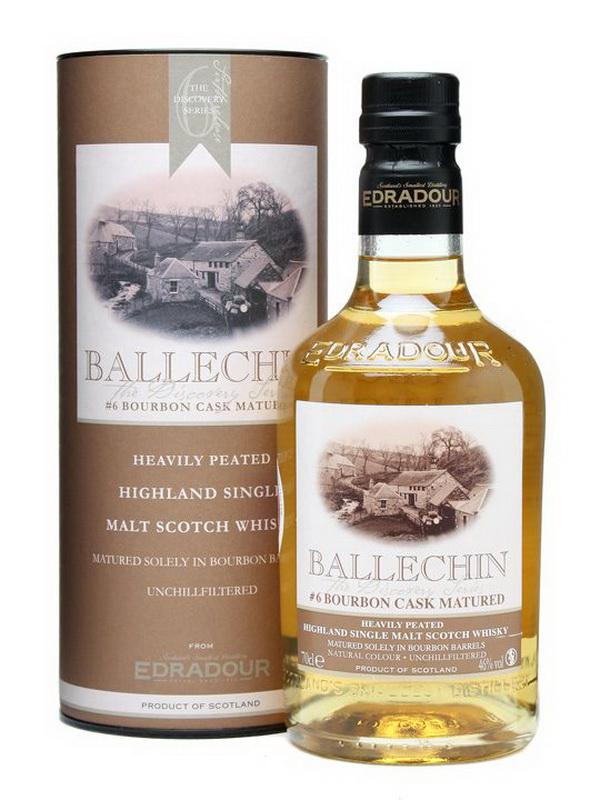 Виски Виски виски Эдрадур Баллечин #6 Шотландский виски Edradour Ballechin #6