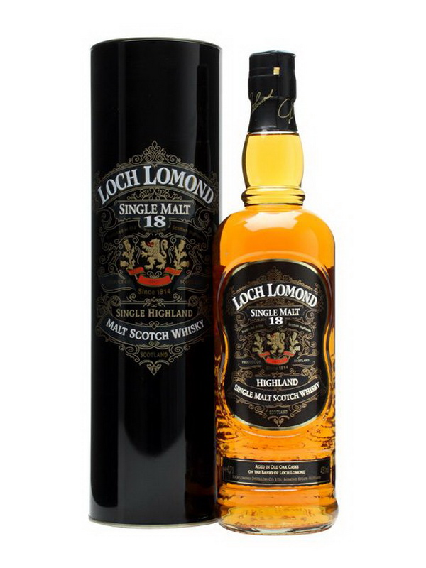 Виски Шотландский виски Лох Ломонд Сингл Молт 18 лет виски Loch Lomond Single Malt 18 years