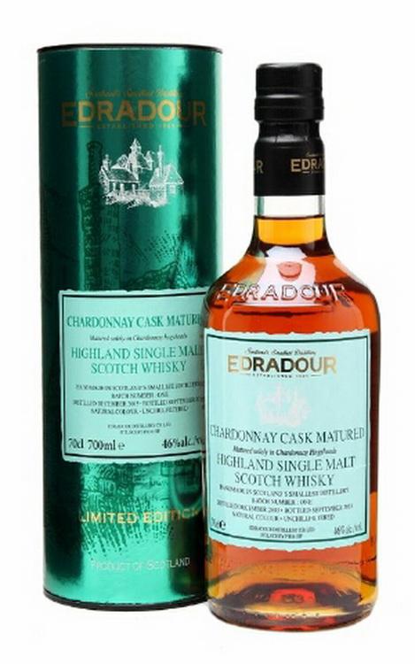 Виски Эдрадур 2003 года Шотландский виски Edradour Chardonney Cask Matured 2003