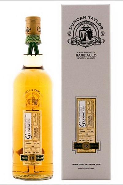 Виски Гленротс 1993 Шотландский виски Glenrothes 1993