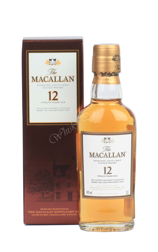 Виски Виски Шотландский виски Макаллан 12 лет Файн Оук виски Macallan 12 years Fine Oak