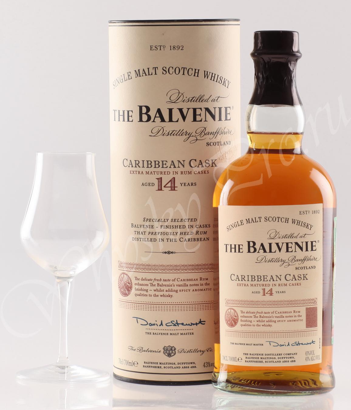 Виски виски Балвени 14 лет Шотландский виски Balvenie 14 years