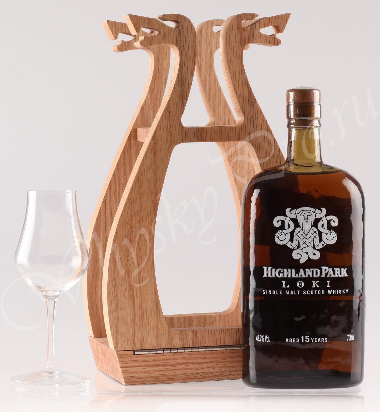 Виски Шотландский скотч виски Хайленд Парк Локи 15 лет whisky Highland Park Loki 15 years