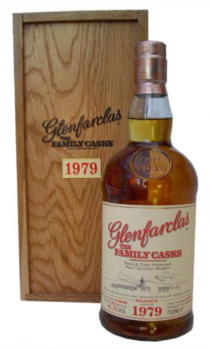 Виски Гленфарклас Фэмэли Каскс 1979 г Шотландский виски Glenfarclas Family Casks 1979