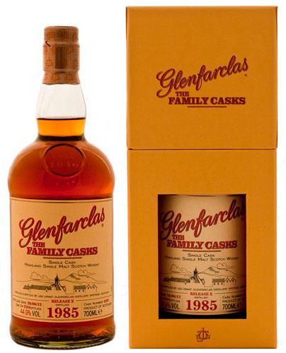 Виски Гленфарклас Фэмэли Каскс 1985 г Шотландский виски Glenfarclas Family Casks 1985