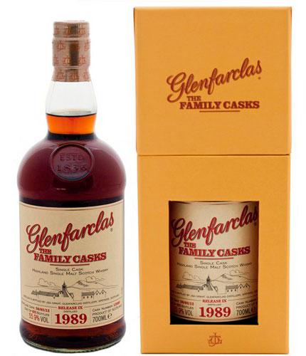 Виски Гленфарклас Фэмэли Каскс 1989 г Шотландский виски Glenfarclas Family Casks 1989