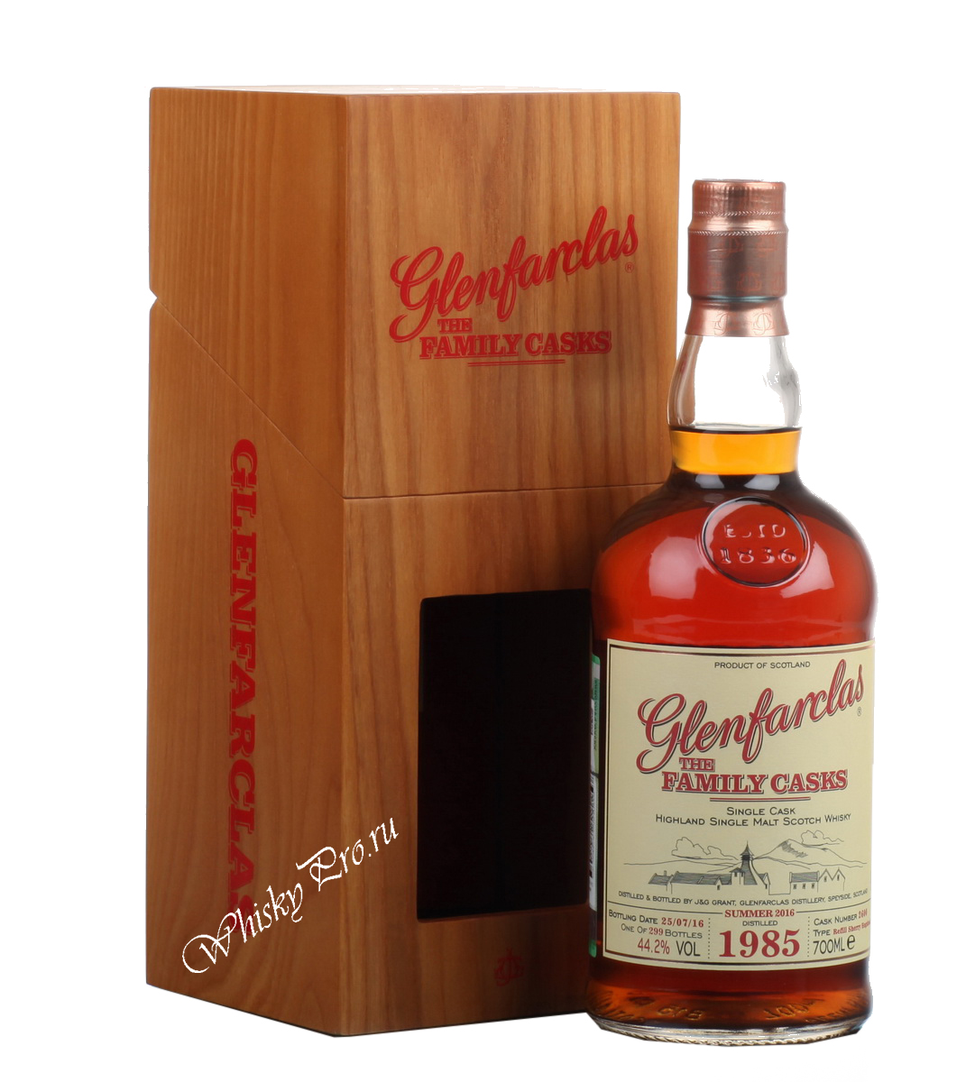 Виски Гленфарклас Фэмэли Каскс 1991 г Шотландский виски Glenfarclas Family Casks 1991