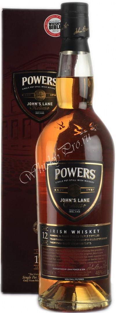 Виски Виски Пауэрс 12лет Ирландский виски Powers 12 years