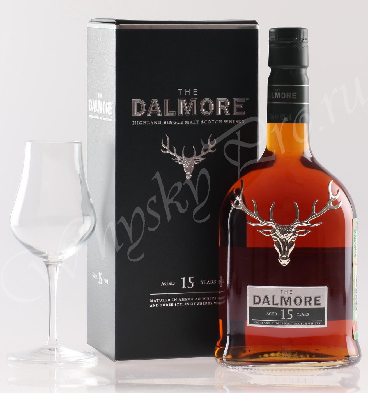 виски Далмор 15 лет Шотландский виски Dalmore 15 years