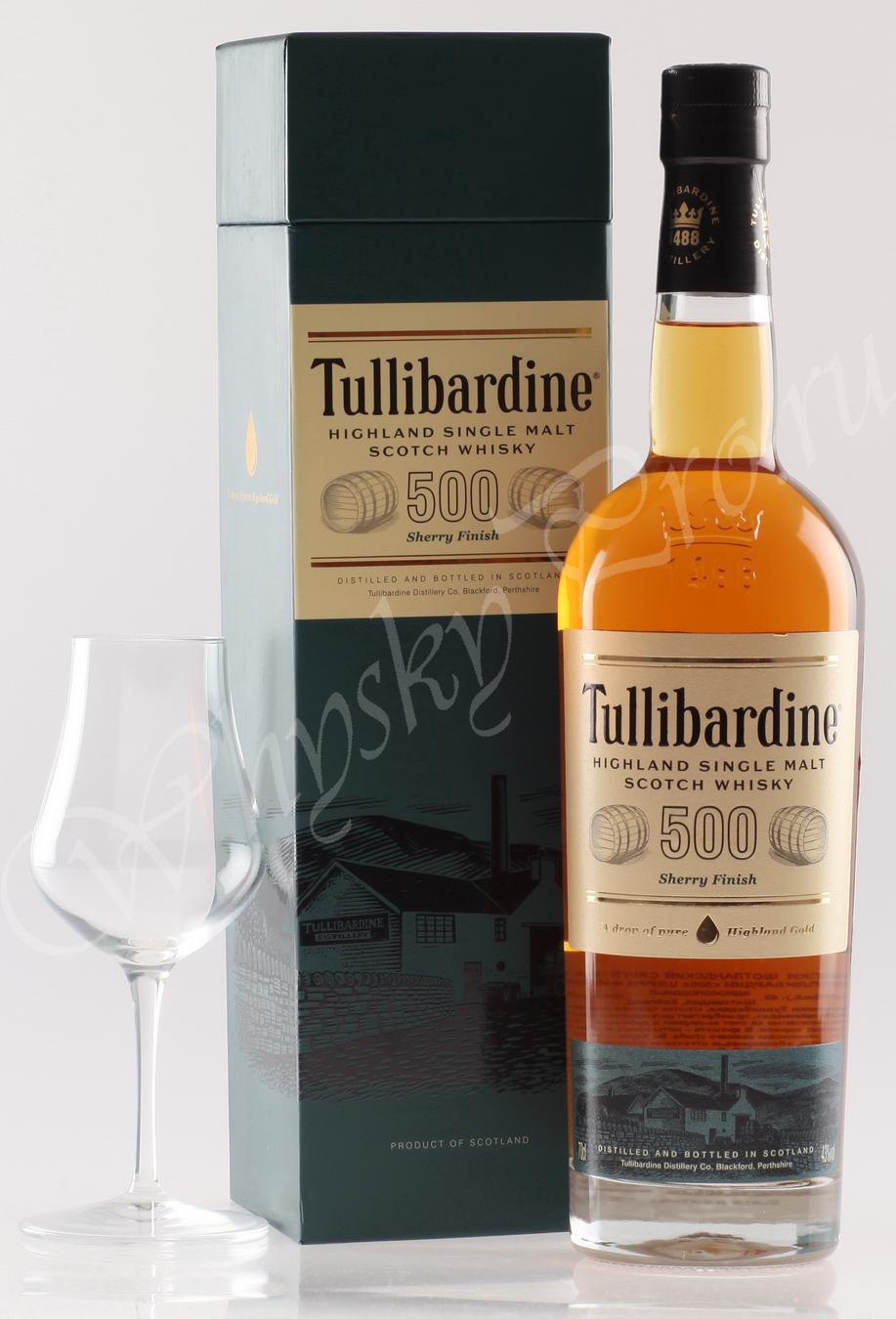 Виски Шотландский виски Тулибардин 500 виски Tullibardine 500