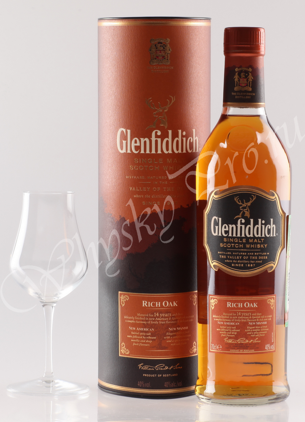 виски Гленфиддик 14 год Рич Оак Шотландский виски Glenfiddich 14 years old Rich Oak