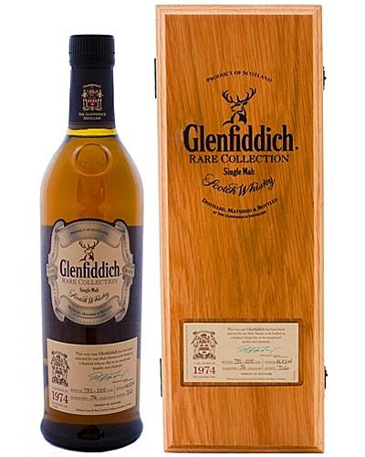 Гленфиддик Винтаж Резерв 1974 года Шотландский виски Vintage Reserve 1974