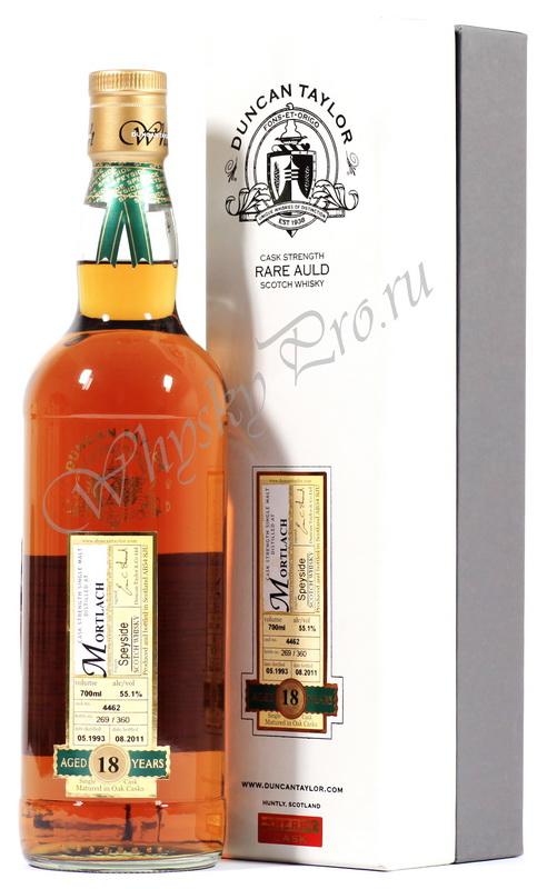 Виски Шотландский Дункан Тайлор Мортлах 18 лет виски Mortlach Cherry Cask 18 years