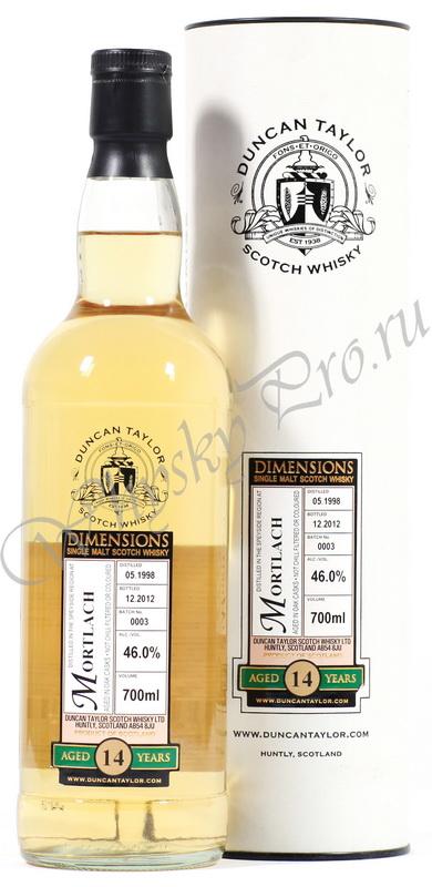 Виски Шотландский Мортлах 14 лет виски Mortlach Duncan Taylor 14 years