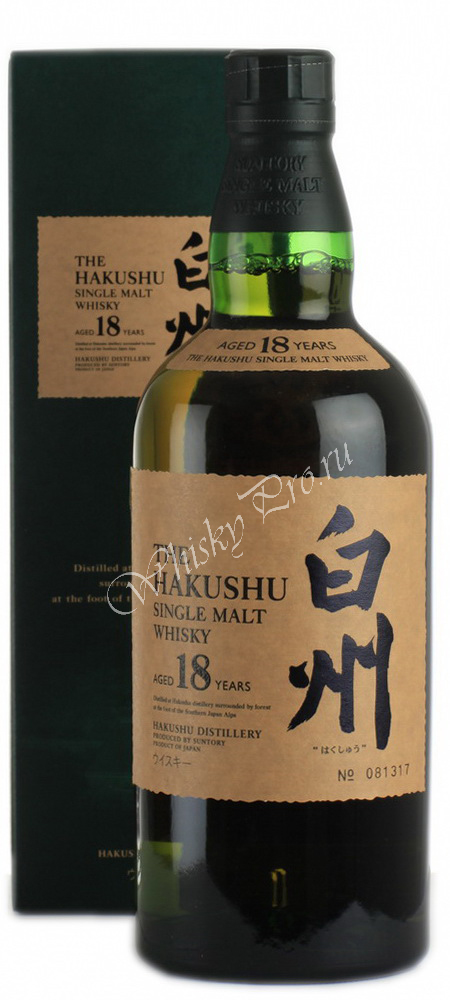Виски Сантори Хакушу Японский виски Suntory Hakushu односолодовый