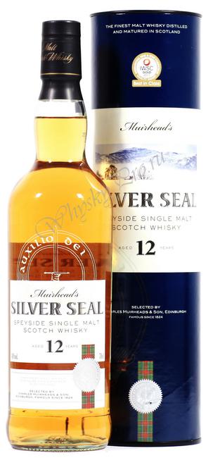Виски Мюрхедс Сильвер Сил 12 лет Шотландский виски Muirheads Silver Seal 12 years