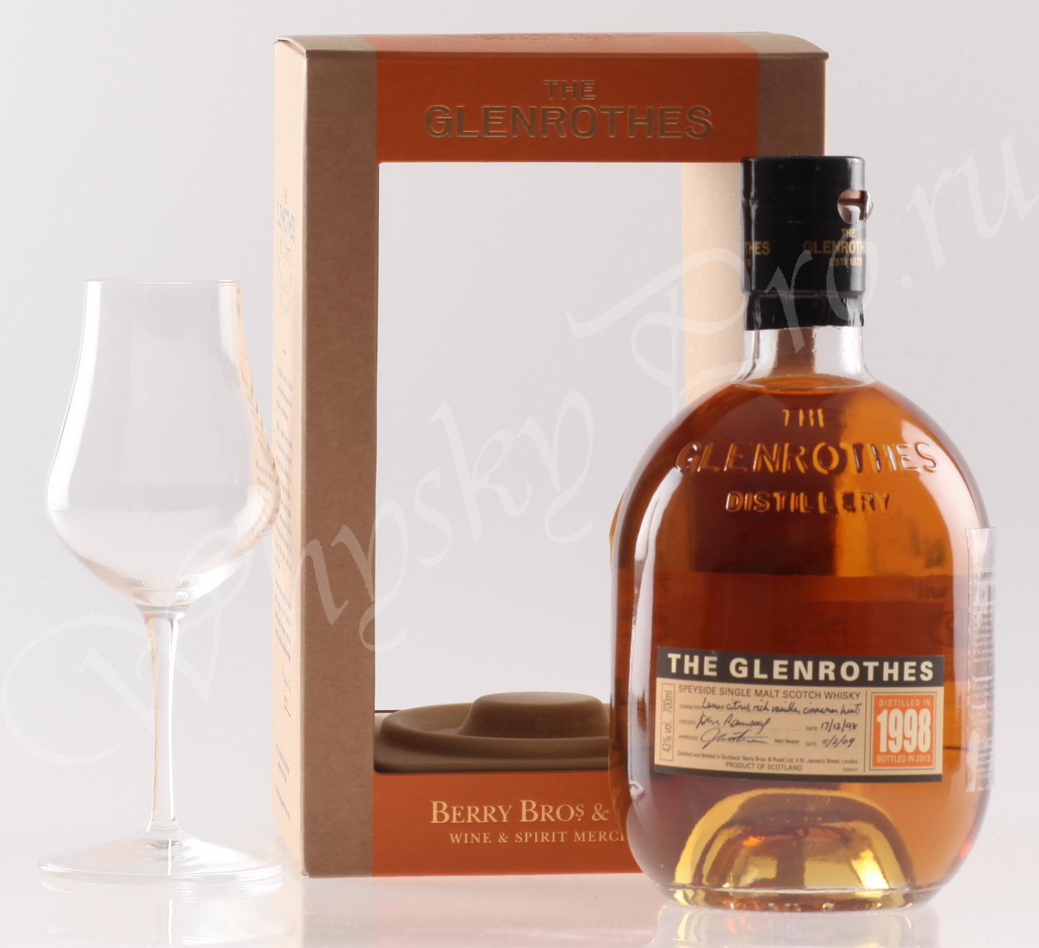Виски Гленротс 1998 Шотландский виски Glenrothes 1998
