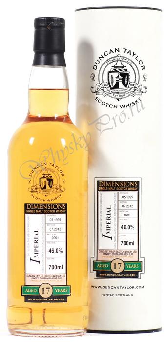 Виски Дункан Тайлор Империал 17 лет виски Duncan Taylor Imperial 1995