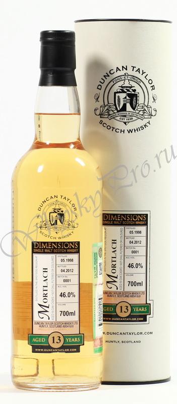 Виски Виски Шотландский виски Дункан Тайлор Мортлах 1998 виски Mortlach 1998 год