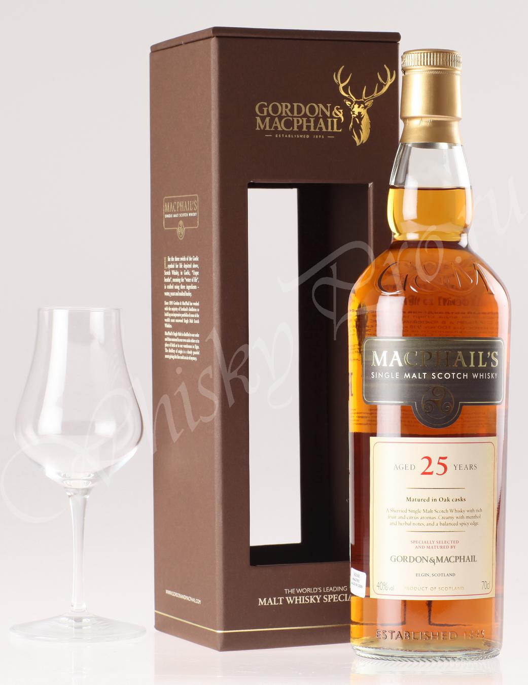 Виски Macphails 25 years виски Макфейлс 25 лет