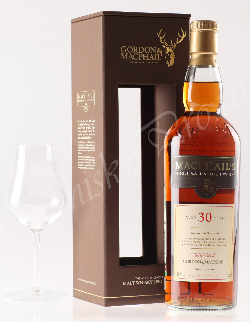Виски Macphails 30 years виски Макфейлс 30 лет