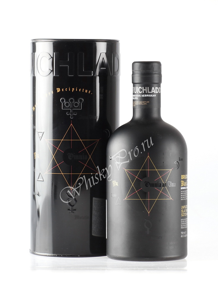 Виски виски Бруклади Блэк Арт Шотландский виски Bruichladdich Black Art