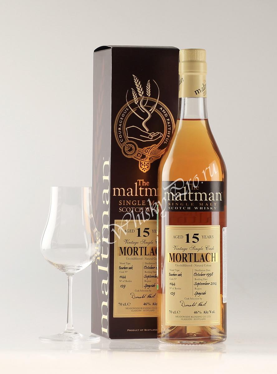 Виски Шотландский Молтман Мортлах 15 лет виски Maltman Mortlach 15 years