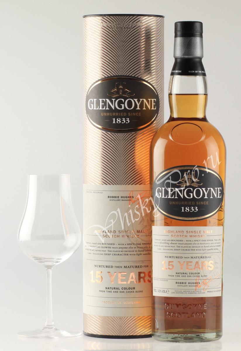 виски Гленгойн 15 лет Шотландский виски Glengoyne 15 years old