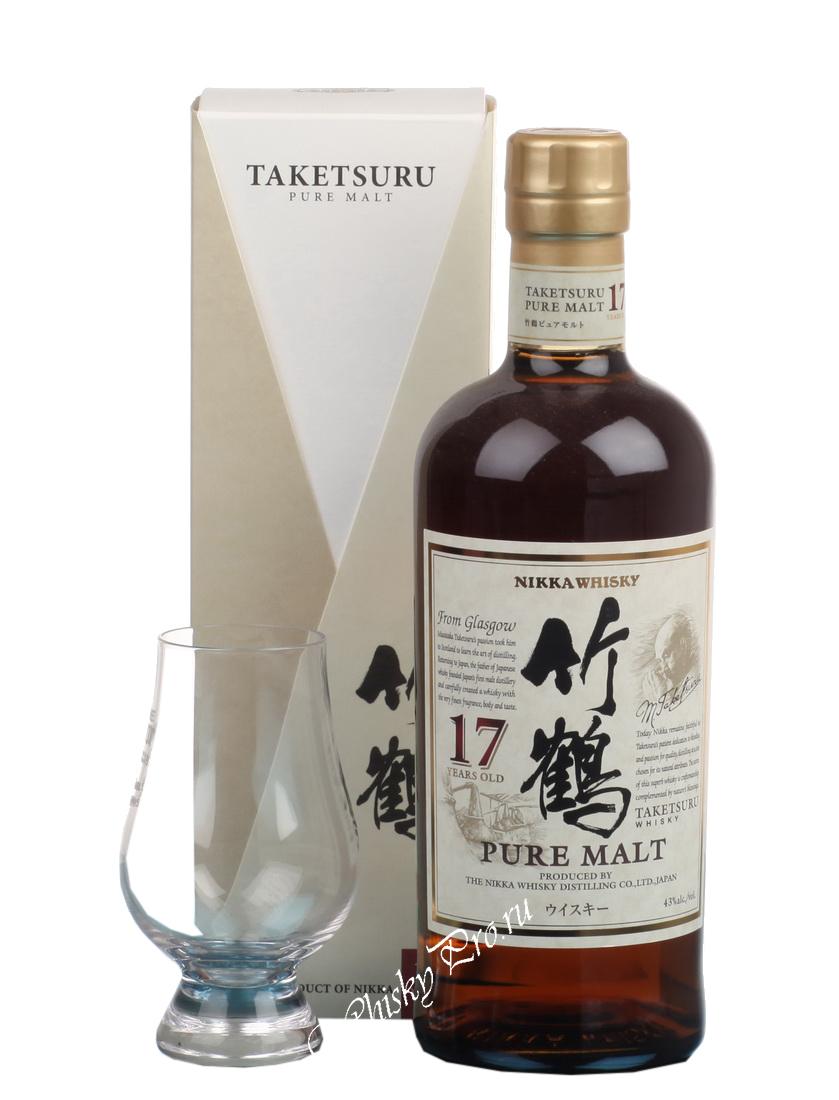 Виски Nikka Taketsuru Pure Malt 17 yrs виски Никка Такетсуру Пьюэ Молт 17-летний